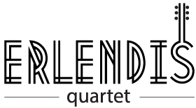 Erlendis Quartet - The classical guitar quartet with a new approach.